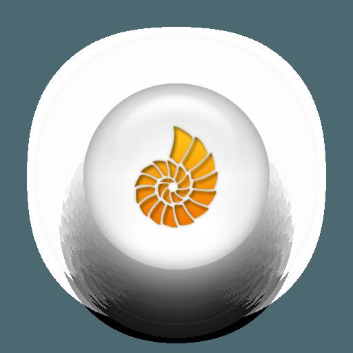 014156-orange-white-pearl-icon-animals-animal-seashell2-sc44